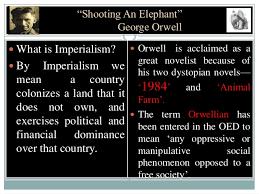 george orwell essay shooting an elephant shooting an elephant essay shooting an elephant shooting an shooting an elephant literary analysis pages