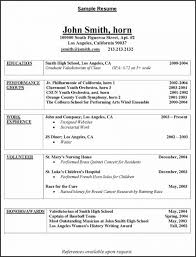 Employment History Resume From Pretty Simple Resume Sample For Job S