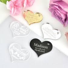 images end acrylic heart wedding gift