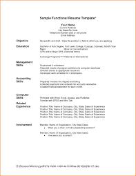 Chronological Order Resume Template 24 Chronological Order Resume Templates Skills Based Resume 4