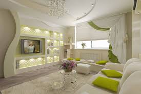 Look For Design Living Room Take A Look In 15 Enchanting Modern Gypsum Board Tv Wall Unitt