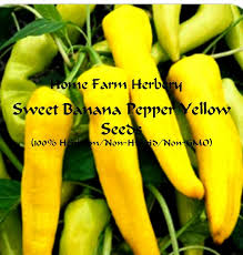 home farm herbery s favorite recipes for sweet yellow banana peppers