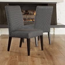 12 dining room chair fabrics stanton dark blue fabric dining chairs set of 2 modern dining