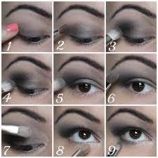 how to tutorial black eye make up for s lvlyrvttvr smokey eyeshadowcream if you
