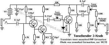 Boost Pedal colorsound tonebender 3 knob