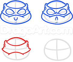 Small Picture Easy Ninja Turtle Drawing Step By Step Image Gallery HCPR