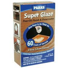 Rust Oleum Parks 1 qt Gloss Super Glaze Finish and Preservative