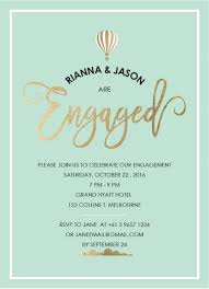 Engagement Invitation Format Best Engagement Party Invitations Design It Online Paperlust