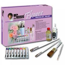 flower painting set