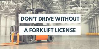 Penalty For Driving A Forklift Without A License