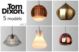 tom dickson lighting. Tom Dixon Lighting Set 3 3d Model Max Obj Mtl 1 Dickson