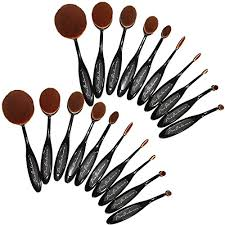 oval makeup brushes. 110ovbrsh10-new-2016-pro-balance-soft-hair-oval- oval makeup brushes