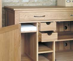 solid walnut hidden home office shiro oak mahogany home office furniture baumhaus aston oak hidden