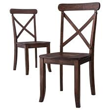chair dining. harvester x-back dining chair (set of 2) - beekman 1802 farmhouse™