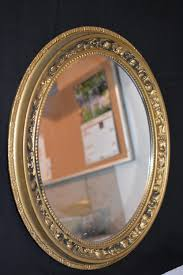 oval mirror frame. VINTAGE GOLD 60s 70s OVAL ORNATE MIRROR PLASTIC PAINTABLE Wedding Picture Frame Oval Mirror V
