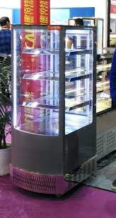 all sides glass door display beverage cooler commercial refrigerator used china