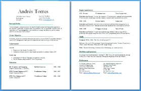 Resume 2 Pages New 2 3 Page Resume And 1 Page Resume 2 Pages Long ...