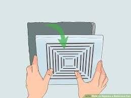 Installing Bathroom Fan Awesome How To Replace A Bathroom Fan With Pictures WikiHow