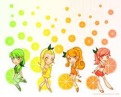 Citrus Girls Wallpaper by ...