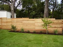 horizontal wood slat fence. Plain Horizontal While  In Horizontal Wood Slat Fence E