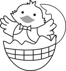 Easter Chicken Coloring Pages Easter Chick Coloring Page Easter