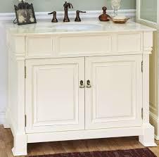 42 Inch Single Sink Bathroom Vanity in Cream White UVBH205042CR42