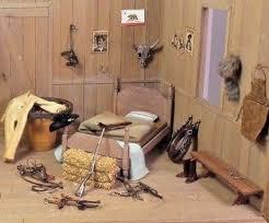 miniature doll furniture. miniature dollhouse vintage ranch hand bedroom lot doll furniture f