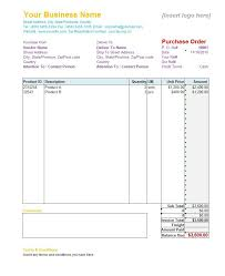 Purchase Order Form 24 Free Purchase Order Templates In Word Excel 3