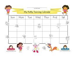 Dora Potty Training Chart Ready To Potty