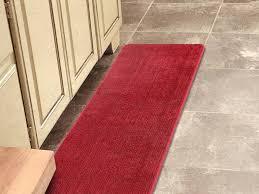 cool red bathroom rugs