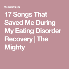 Eating Disorder Recovery Quotes Mesmerizing 48 Songs That Have Saved Me In Eating Disorder Recovery Eating