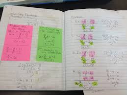 teaching in special education two step equations solving multi worksheet with fractions img solving multiple step