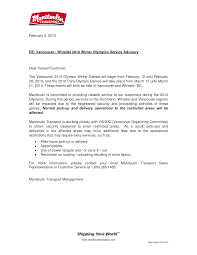 Cover Letter Letter Announcing New Business Announcing New