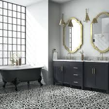 black and white tile floor patterns. Brilliant Black Black And White Cement Tile Floors Bathroom Ideas 2017 Article  On Black And White Tile Floor Patterns 6