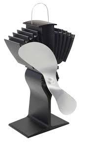 Kaminofen Ventilator Ecofan 812 Kbx Airmax Schwarz Silber