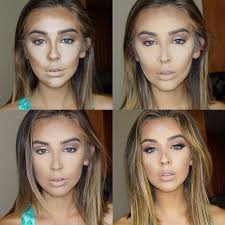 contour your entire face in 4 steps