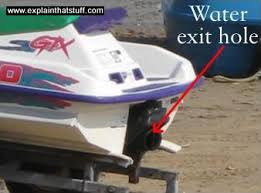 how do jet skis work explain that stuff photo of a sea doo impeller