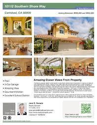 Real Estate Flyer Template Peerpex