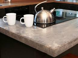 how to build concrete countertops in place