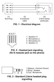 81400 3 5mm microphone jack wiring Phone Audio Jack Wiring RJ48X Wiring a Jack
