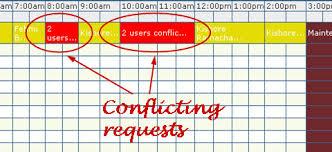 Schedule Conflict Documentation Baccountmanagement Ascheduler Orbit