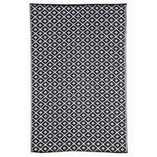 kimberley outdoor rug in black 180x270cm