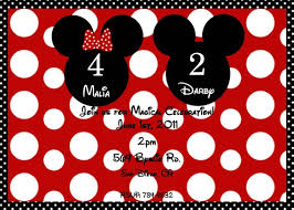 mickey and minnie invitation templates free minnie and mickey birthday invitations printable download