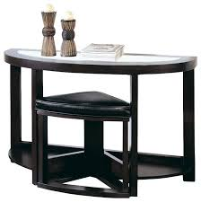 home and furniture mesmerizing espresso console table in 2 shelf threshold target coffee finish set elegant