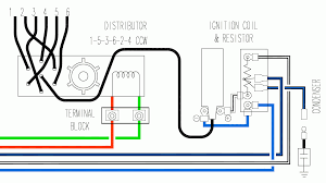 ignition coil ballast resistor wiring diagram 2