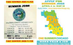 city warns of bogus flier promising thousands of summer jobs cbs city warns of bogus flier promising thousands of summer jobs cbs chicago