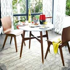 cafe style dining room west elm round dining table reeve mid century bistro table love the cafe style dining room cafe style tables