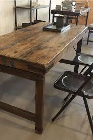 Esstisch Im Vintage Shabby Style Aus Holz Klappbar Braun Stuff Shop
