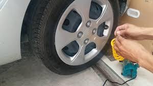 Test khả năng bơm lớp ô tô khi xì hết hơi của máy bơm hơi Total 140PSI  /nguyenchidam - YouTube