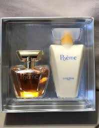 lane poeme eau de parfum poetry in lotion gift set free priority ship perfume ebay